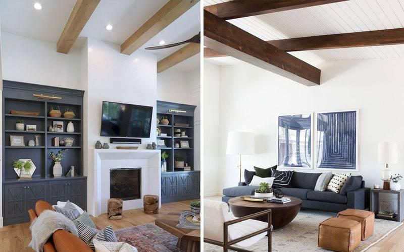 Стильные декоративные балки на потолок: современное преображение средневекового наследия