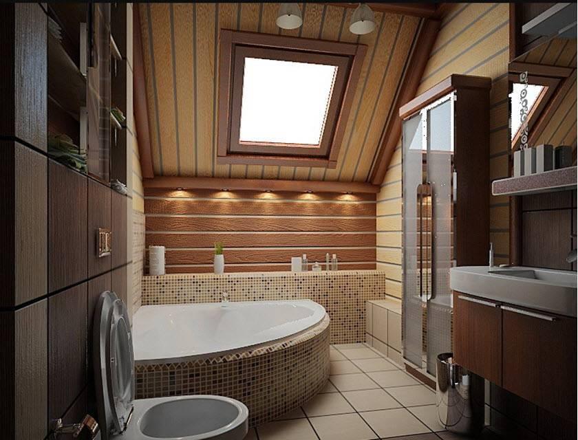 Ванная в частном доме- 115 фото красивых идей украшения и дизайна