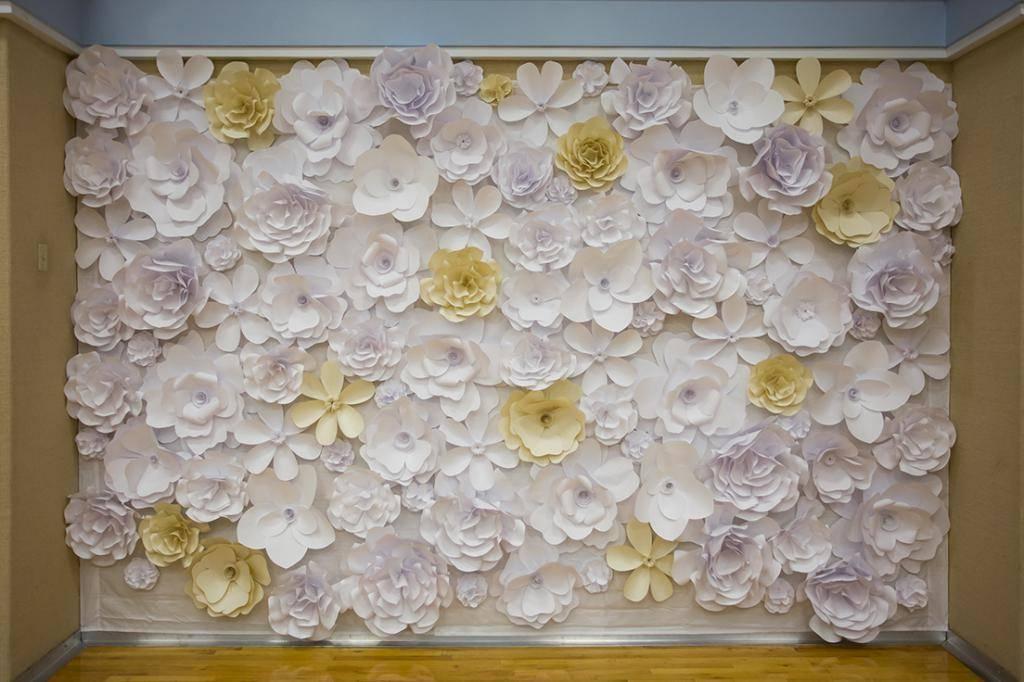 Делаем цветы из бумаги — шаблоны, мастер-классы и идеи