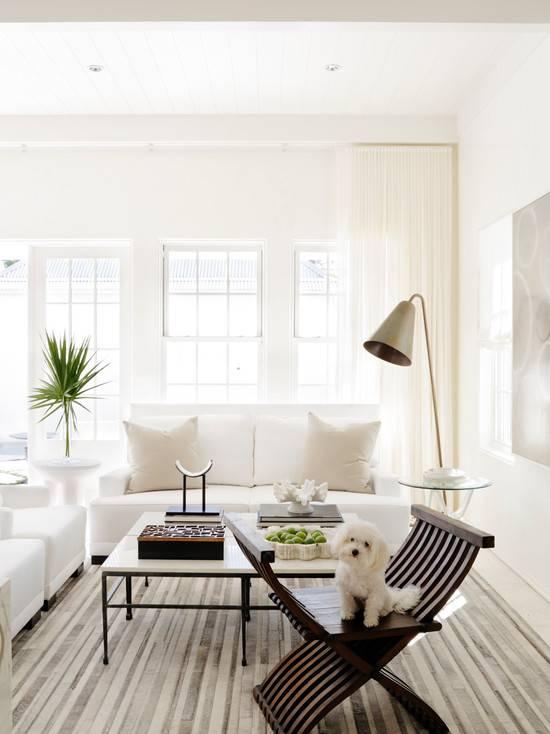 Стены белого цвета в интерьере: фото обзор лучших решений