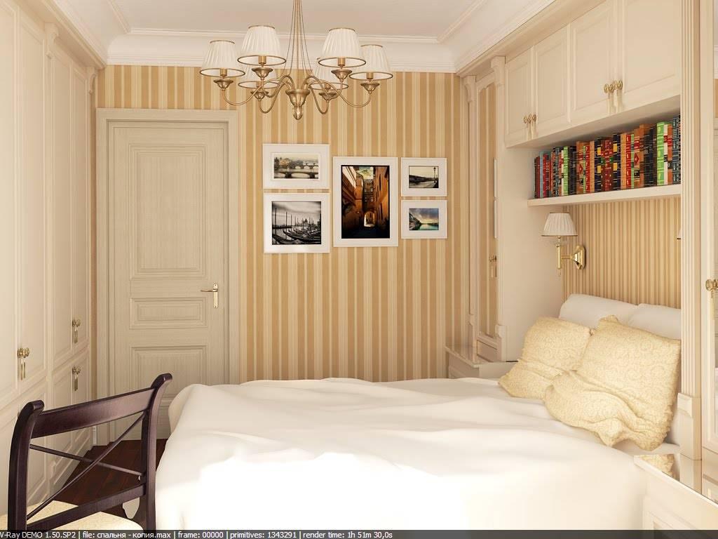 Спальня 9 кв. м