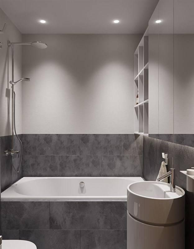 Дизайн ванной комнаты с модной плиткой при оформлении маленькой ванны (90 фото): размеры изделий и варианты отделки, идеи 2021