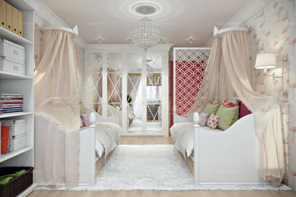 Детская комната для девочки в современном и других стилях интерьера