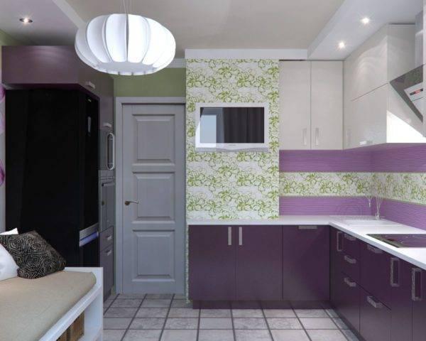 Дизайн кухни 10 кв м (30 реальных фото) - новинки 2020-2021 года