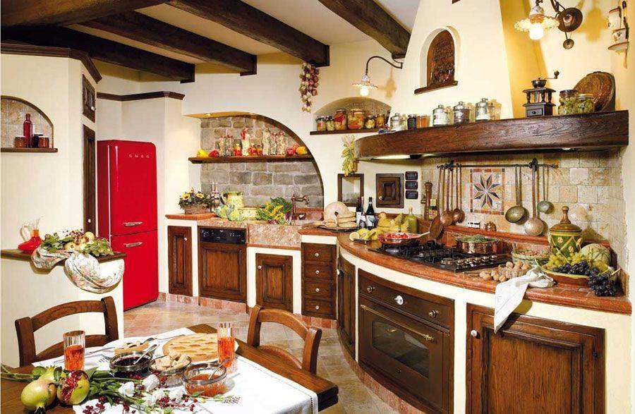 Красивые кухни: простые идеи и советы