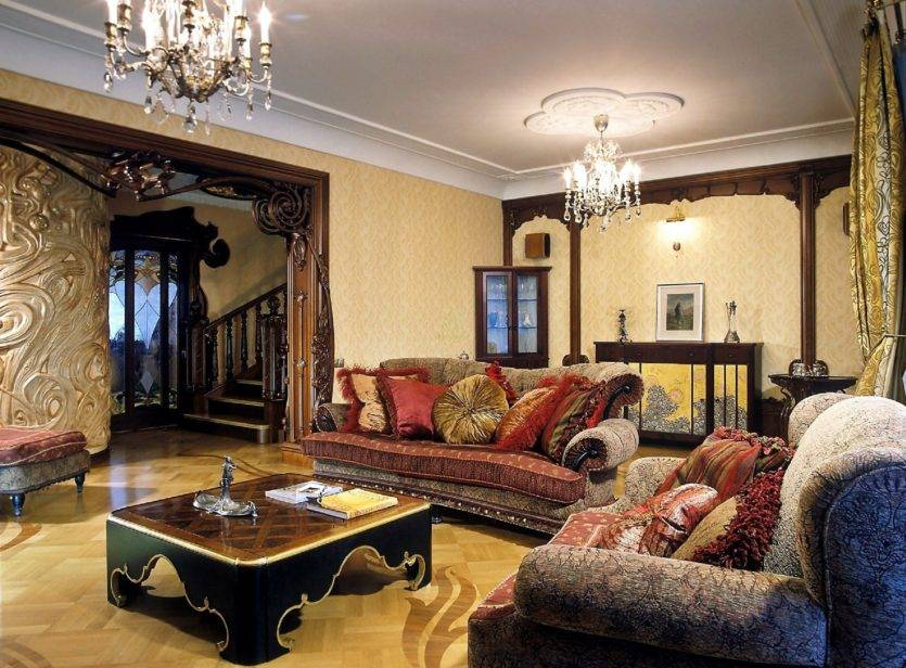 Мебель модерн в оформлении домашнего интерьера, нюансы стиля