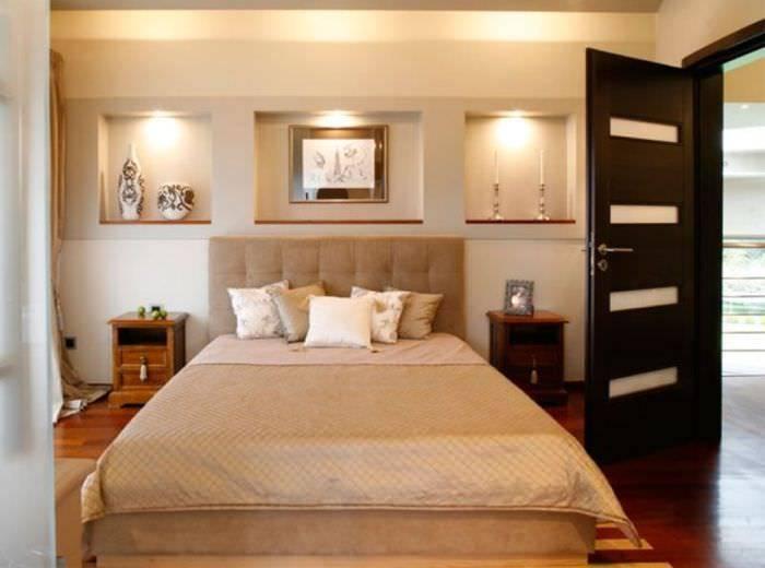 Фигуры из гипсокартона на стене (47 фото): красивые узоры из гипсокартона для декора и оформления стен