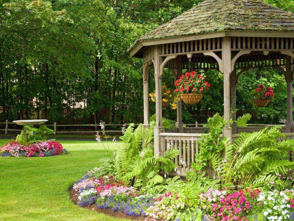 Беседки для дачи [47 фото], какие бывают беседки для дачи, варианты простых летних беседок для садового участка, интересный дизайн с идеями
