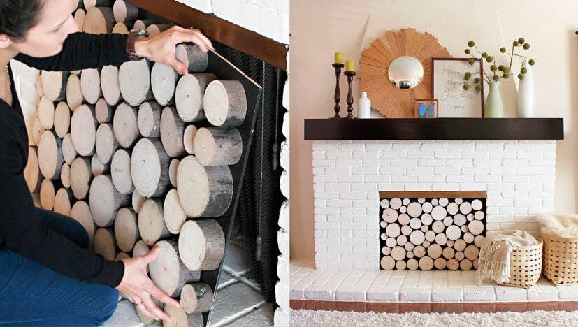 Декор камина: обзор стильных решений и советы профессионалов как правильно украсить камин (145 фото и видео)