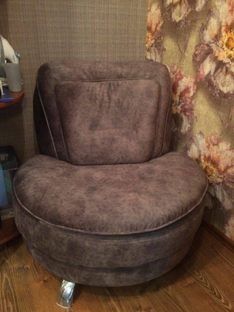 Как качественно обтянуть кресло своими руками?
