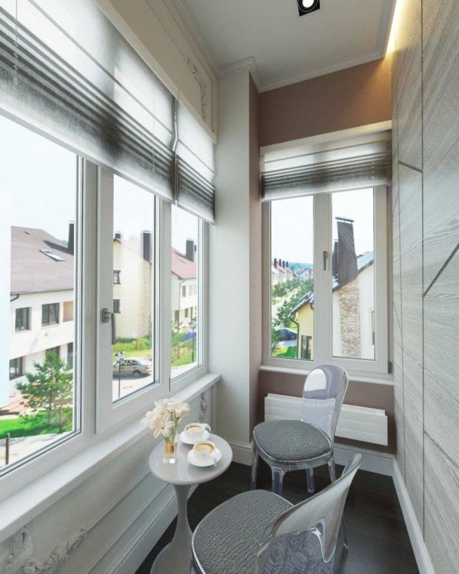 Маленький балкон: красивые идеи обустройства и оформления