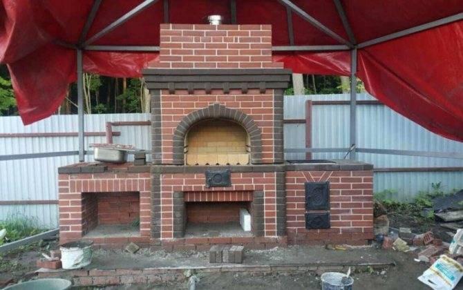 Беседка с мангалом (72 фото): проекты и строительство закрытой конструкции своими руками, как построить из кирпича