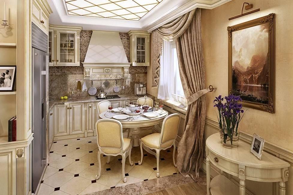 Кухня в стиле «современная классика» (63 фото): дизайн классического интерьера и выбор кухонного гарнитура к нему