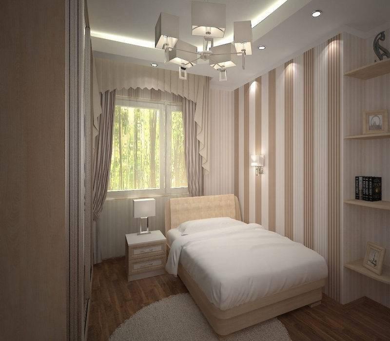 Дизайн узкой спальни: как лучше оформить и идеи для удобной планировки