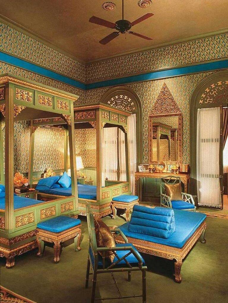 Дизайн спальной комнаты в восточном стиле