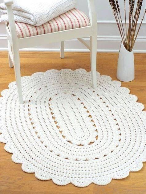 Как связать коврик спицами: простые и креативные схемы
