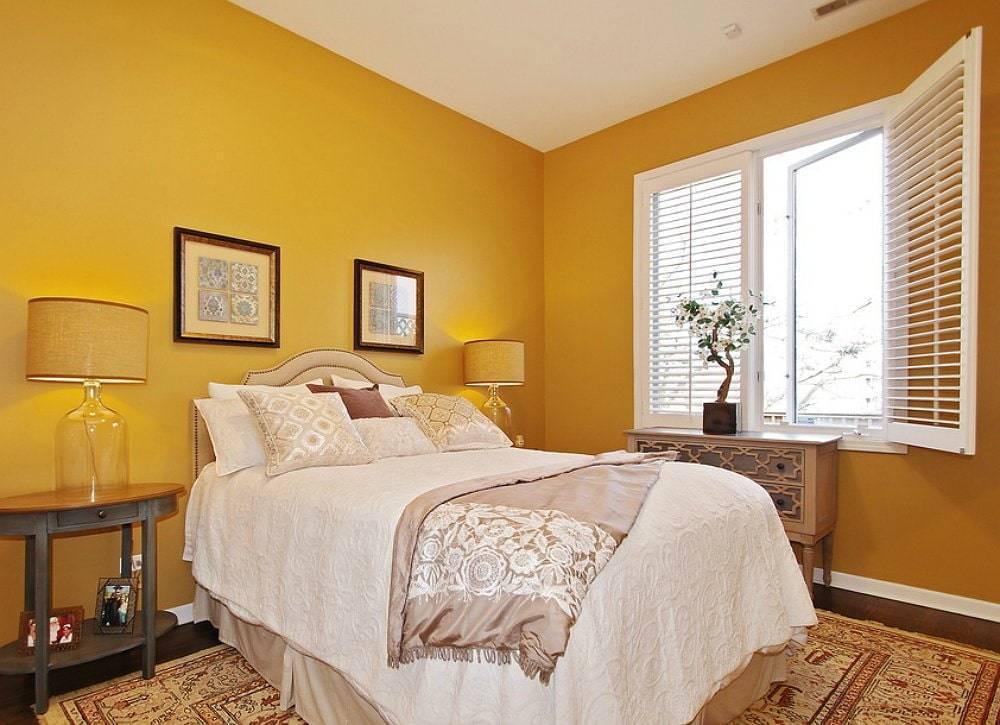 Покраска стен в спальне — лучшие варианты комбинирования цветов в интерьере спальни (120 фото идей)