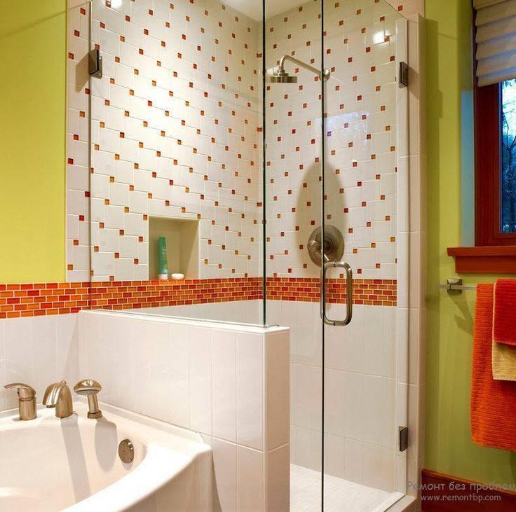 Варианты отделки ванной комнаты плиткой: фото, современные идеи