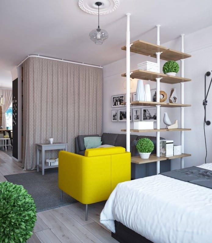 Дизайн однокомнатной квартиры 40 кв м – лучшие фото и проекты на 2019