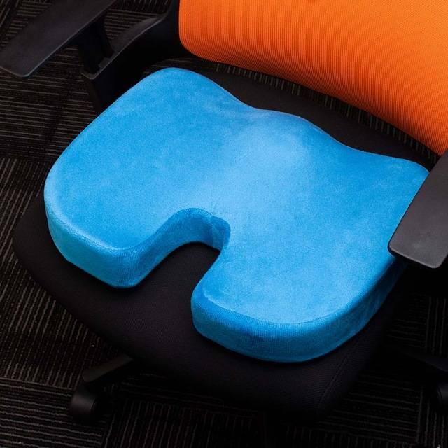 Ортопедическая подушка для сидения на стул – как выбрать и что лучше купить, советы + фото