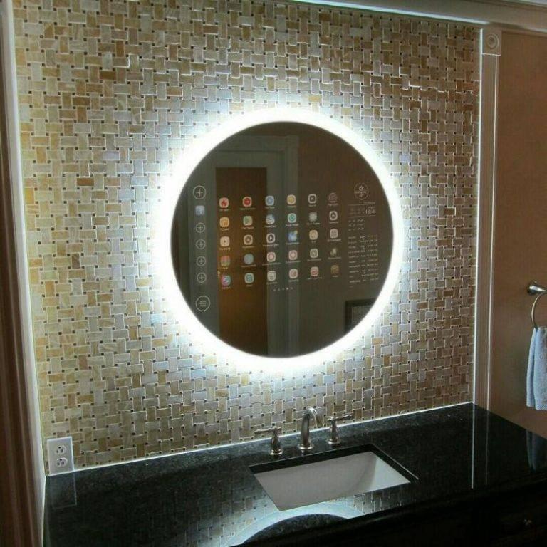 Обзор smartmirror: умное зеркало для дома с сенсорным управлением