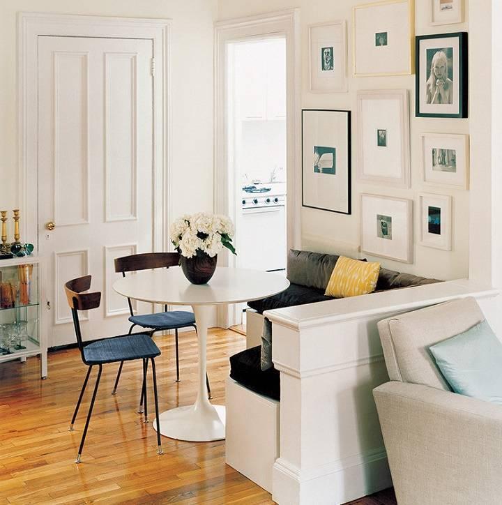 11 идей для дизайна маленьких квартир + фото