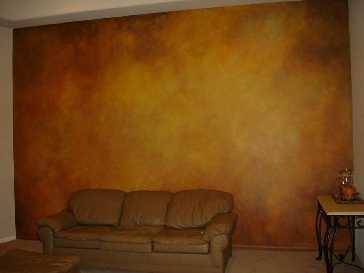 Декоративная покраска стен (36 фото): способы нанесения краски своими руками, варианты окраски валиком в квартире