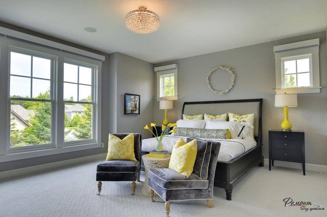 Серый цвет в интерьере: правила сочетания и использования в разных комнатах