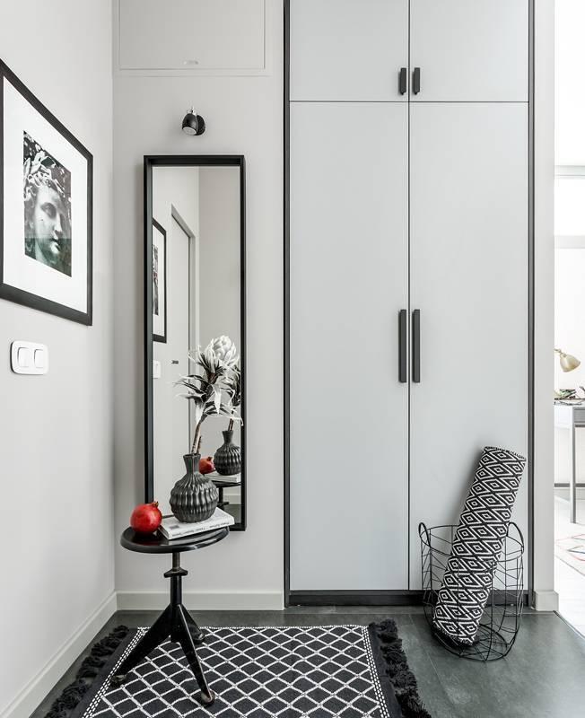 Шкаф в прихожую (61 фото): радиусные современные модели для верхней одежды гостиной