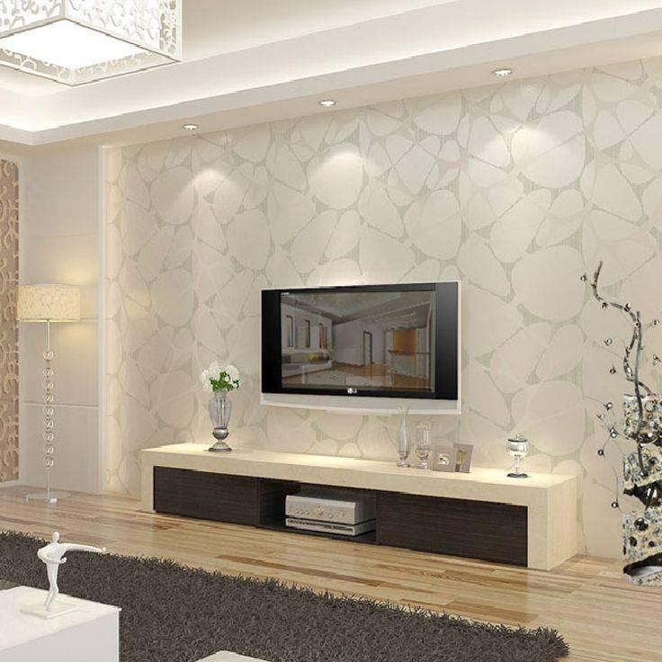 Телевизор в стене гостиных комнат – варианты оформления зоны