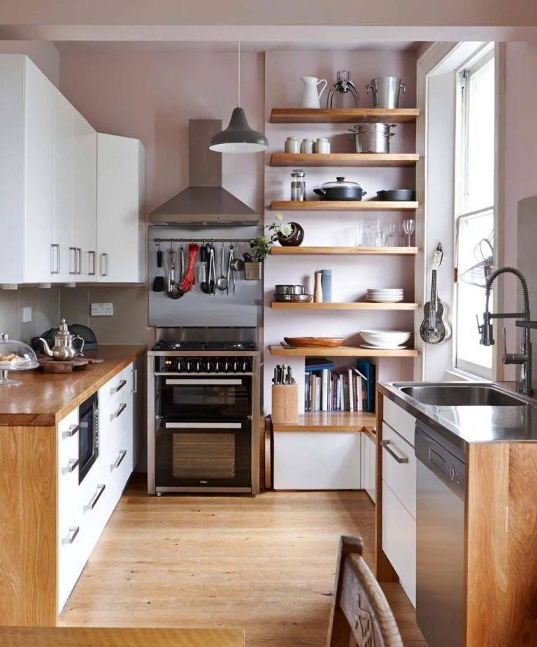 Кухня для мини-студии (64 фото): выбор кухонного гарнитура и дизайн интерьера. компактная угловая кухня со встроенной техникой в маленькой квартире