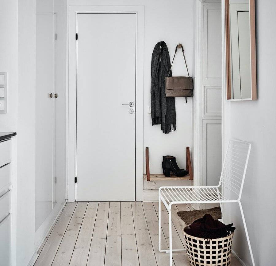Прихожая и коридор в стиле минимализма