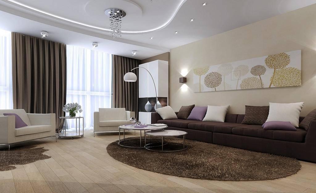 Обои с цветами в интерьере гостиной (49 фото): дизайн зала с крупными цветочными узорами персикового цвета