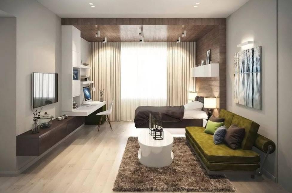 Фото дизайна комнаты 16 квадратов — описываем суть