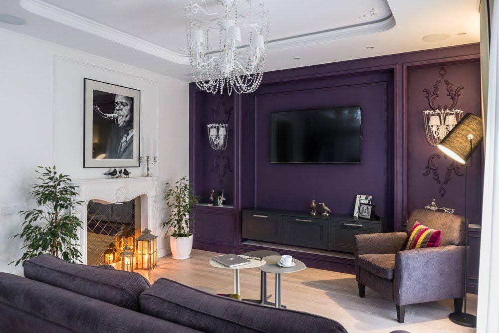 Фиолетовые диваны