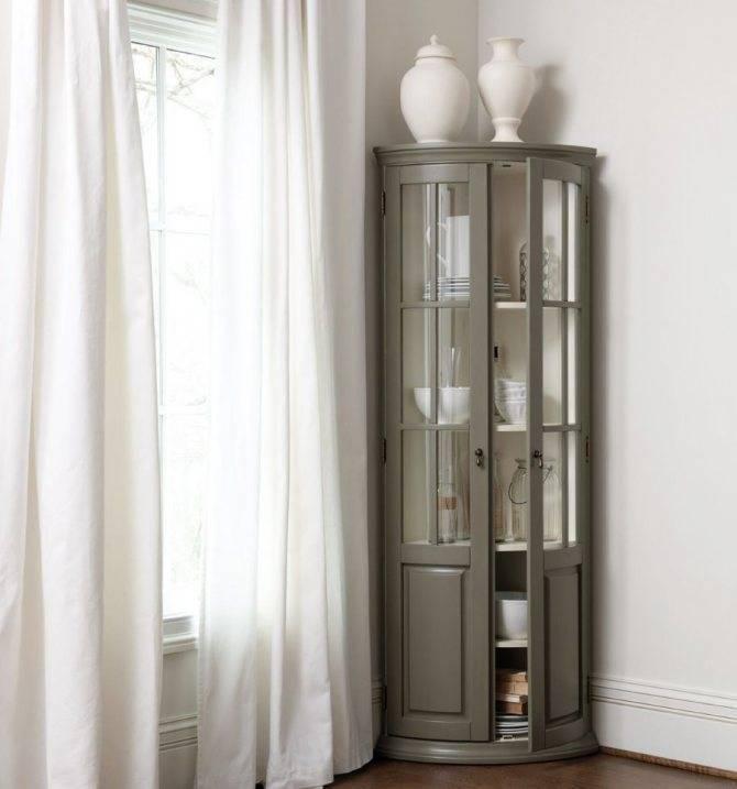 Угловой шкаф, существующие модели, их наполнение и материалы изготовления