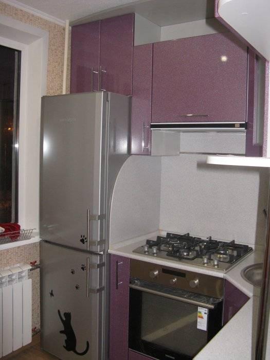 Кухня с газовой колонкой: реальных фото, варианты установки