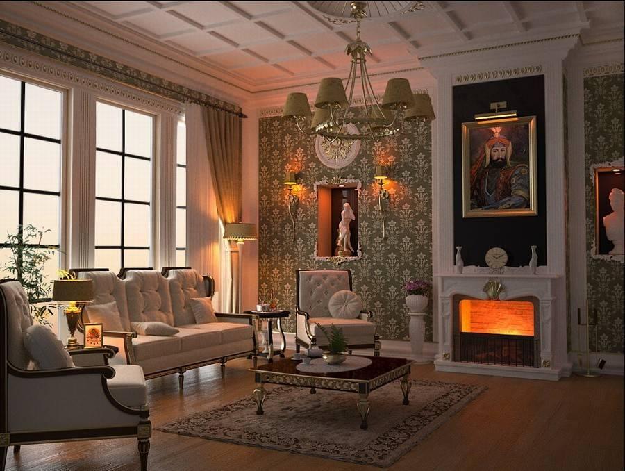 Особенности классицизма в интерьере - «стили»