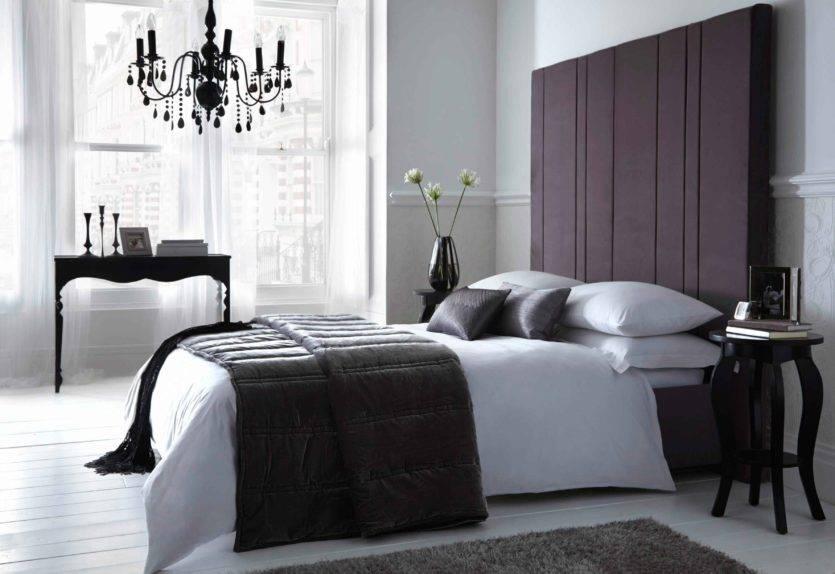 Дизайн гостиной в черно-белом стиле