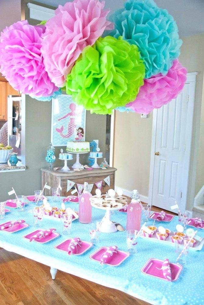 Как украсить стол на день рождения – декор и сервировка   интерьерные штучки