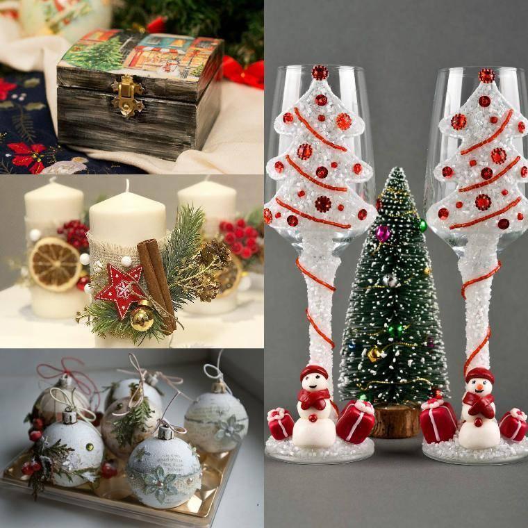 Идеи подарков на новый год своими руками от простых до оригинальных: из чего можно сделать + фото и видео