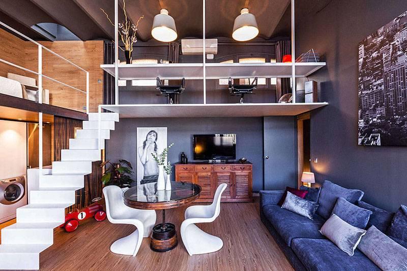 Двухуровневые квартиры: особенности постройки и оформления квартир различного класса
