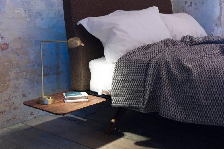 Варианты стиля и дизайна прикроватных тумб для спальной комнаты