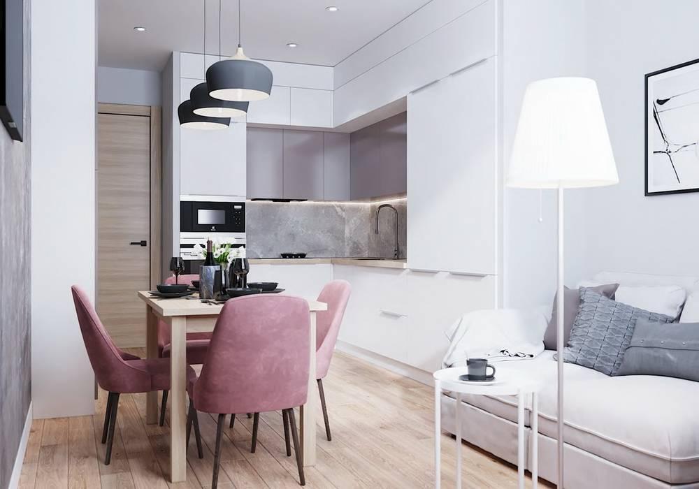 Современный дизайн кухни-гостиной: 42 фото + идеи