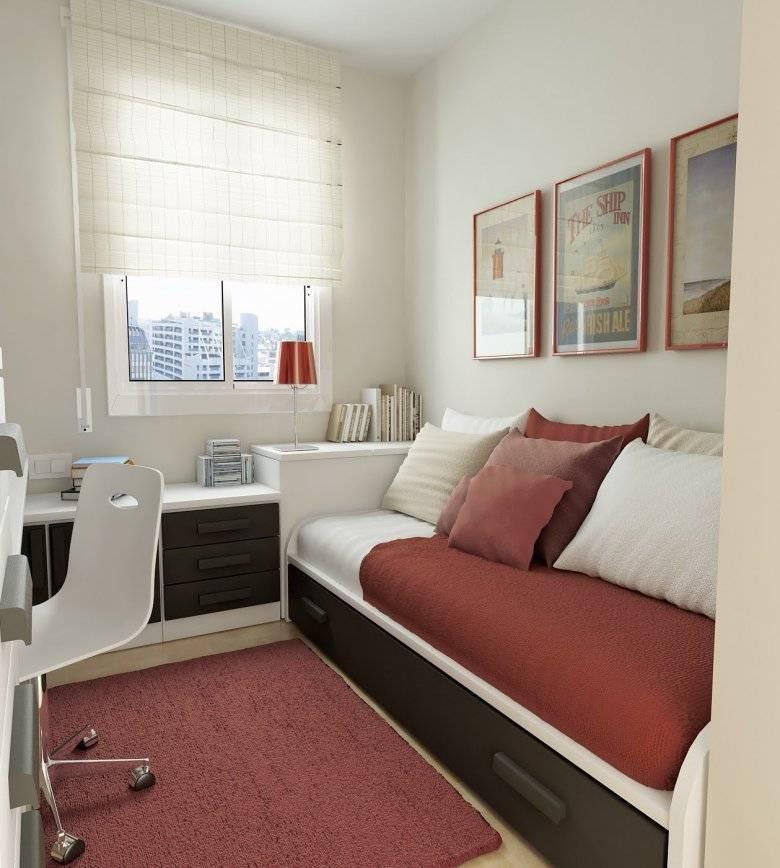Диваны в спальню (48 фото): дизайн маленьких раскладных диванчиков и диванов-кроватей, высокие угловые диваны в интерьере спальни, современные прикроватные модели и другие варианты