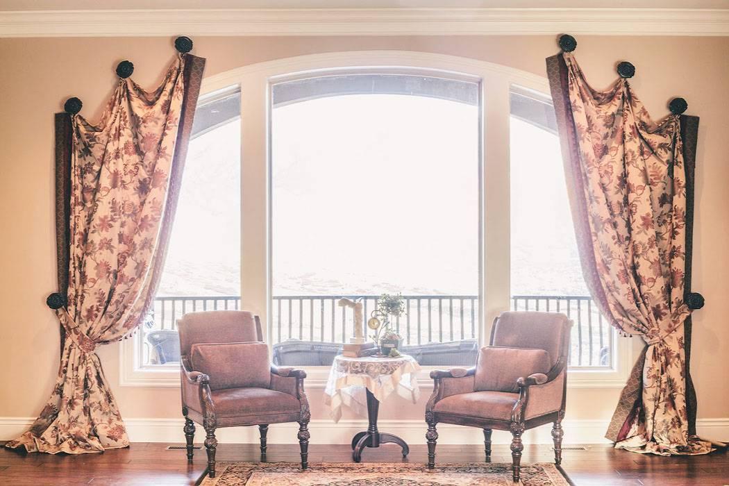 Как оформить шторы - 115 фото с шикарными вариантами оформления!