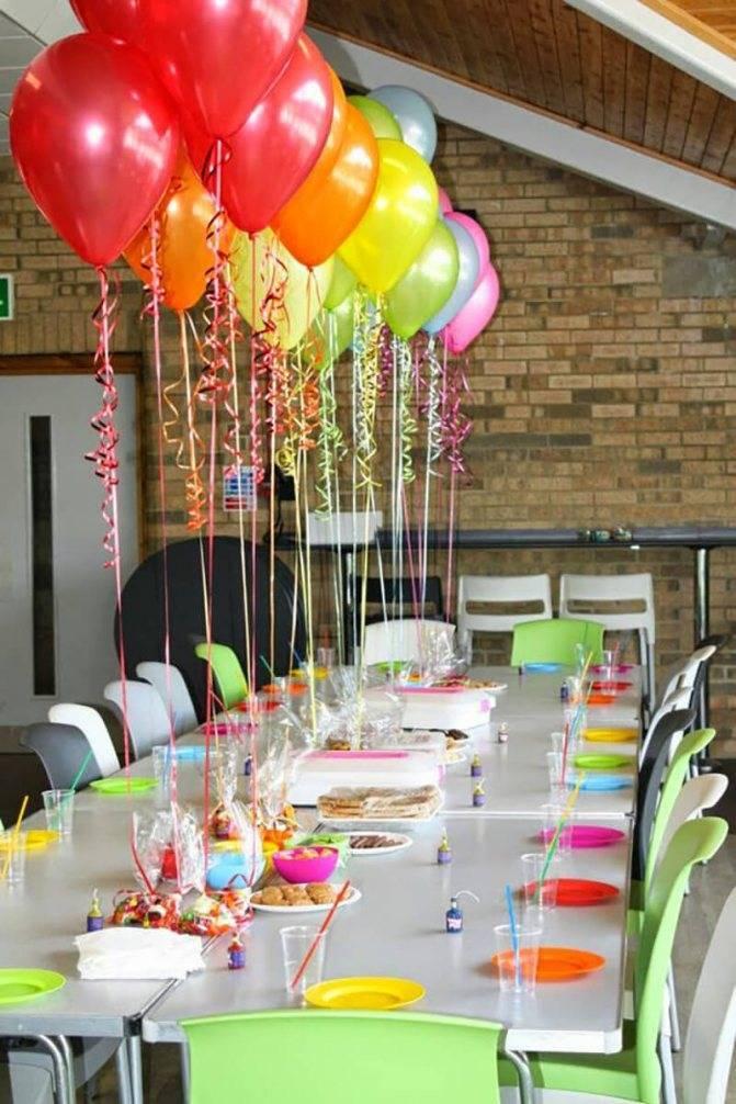 Сервировка стола на день рождения - фото примеров
