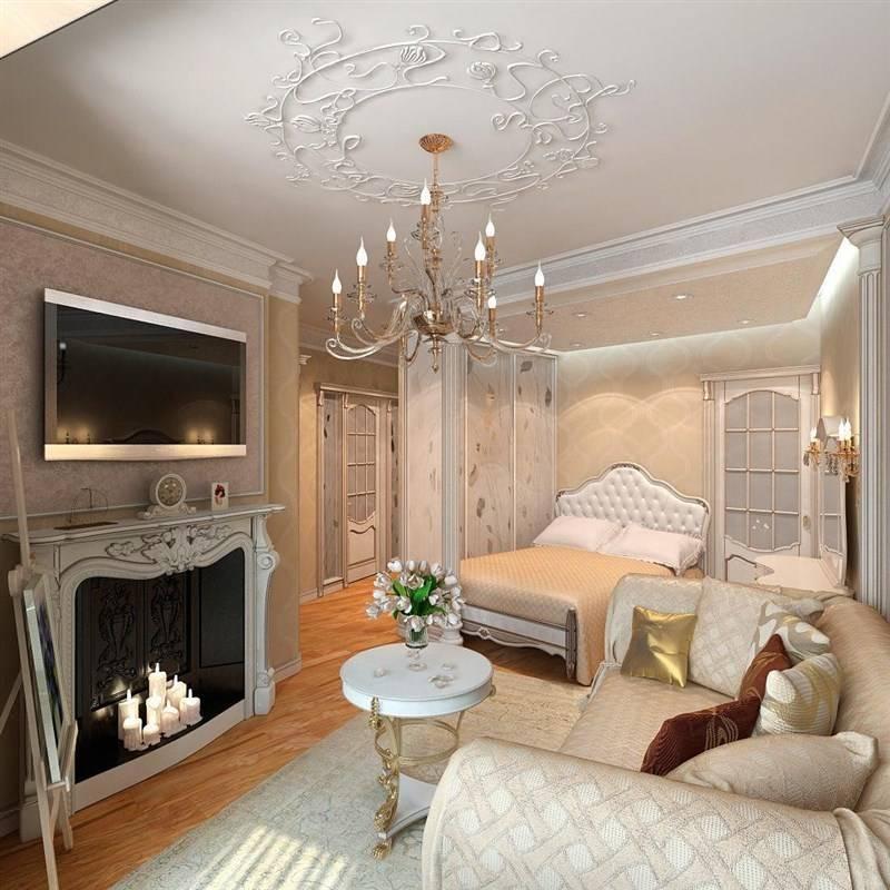 Дизайн квартиры в классическом стиле - 25 фото интерьера