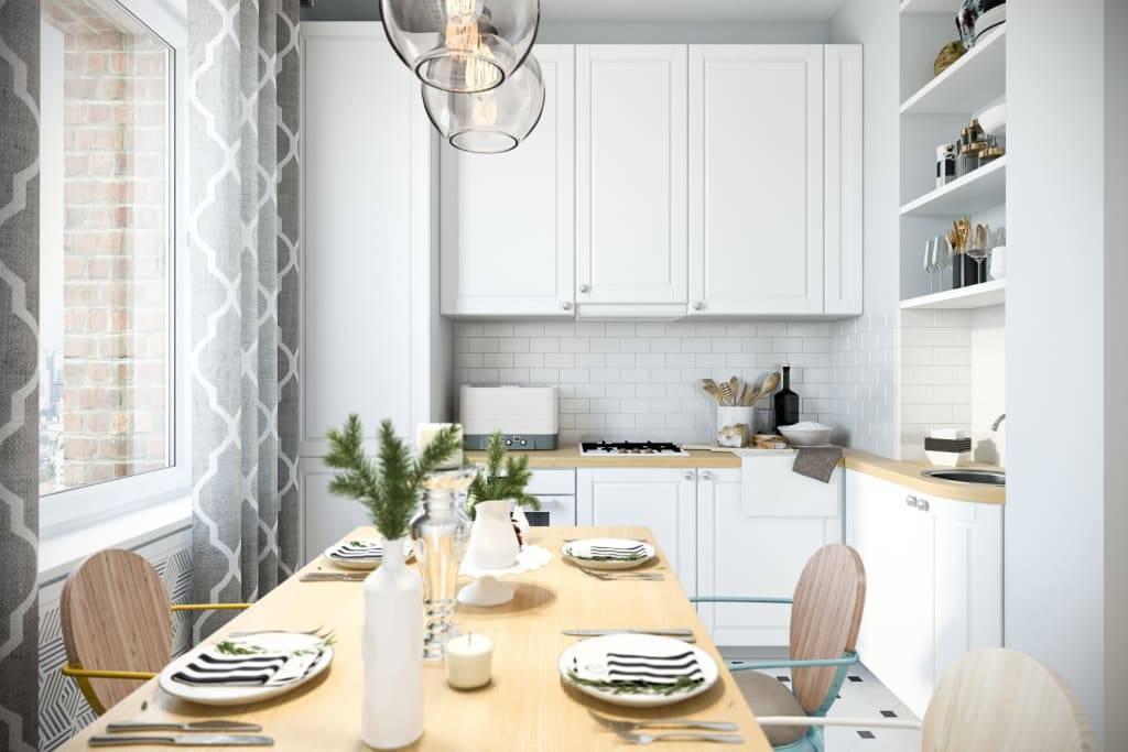 Белая кухня: дизайн и фото лучших кухонных интерьеров в белом цвете
