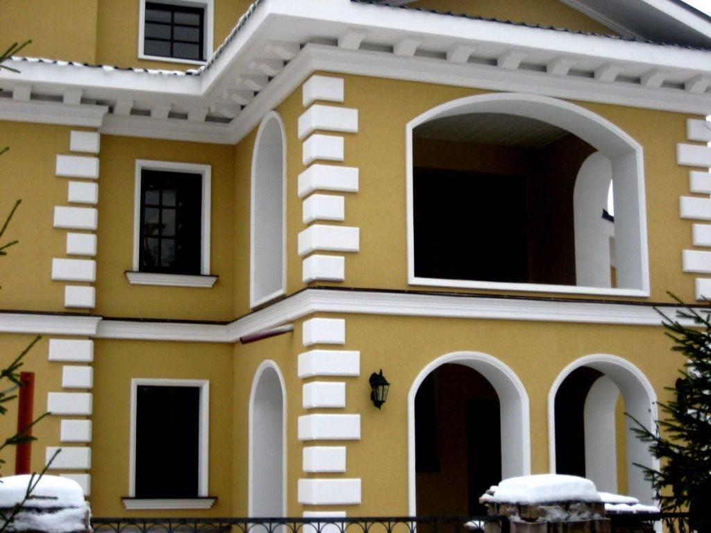 Фасадный декор: особенности оформления | mastera-fasada.ru | все про отделку фасада дома